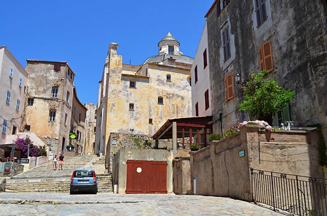 Exploring the Citadel, Calvi, Corsica