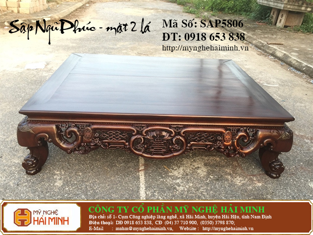 SAP5806a  Sap gu Ngu Phuc Mat 2  do go mynghehaiminh