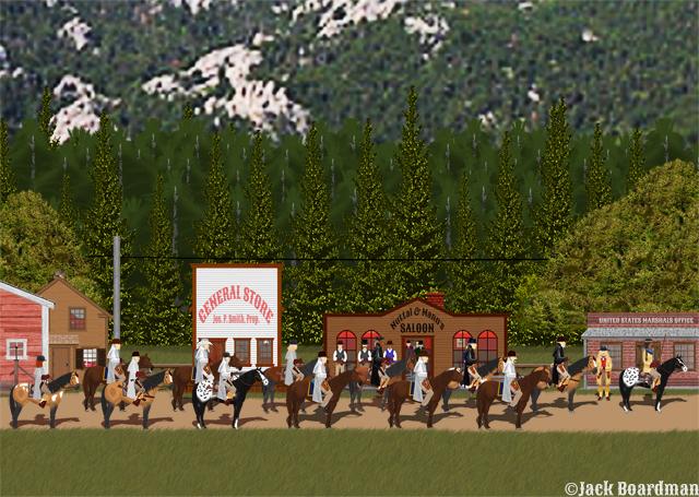 Deadwood—six weeks later ©Jack Boardman