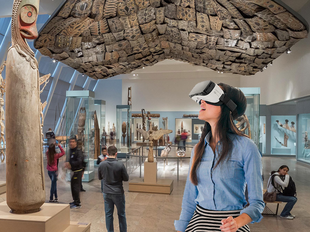 D Virtual Reality Exhibition : Visiting museum and galleries online rick s
