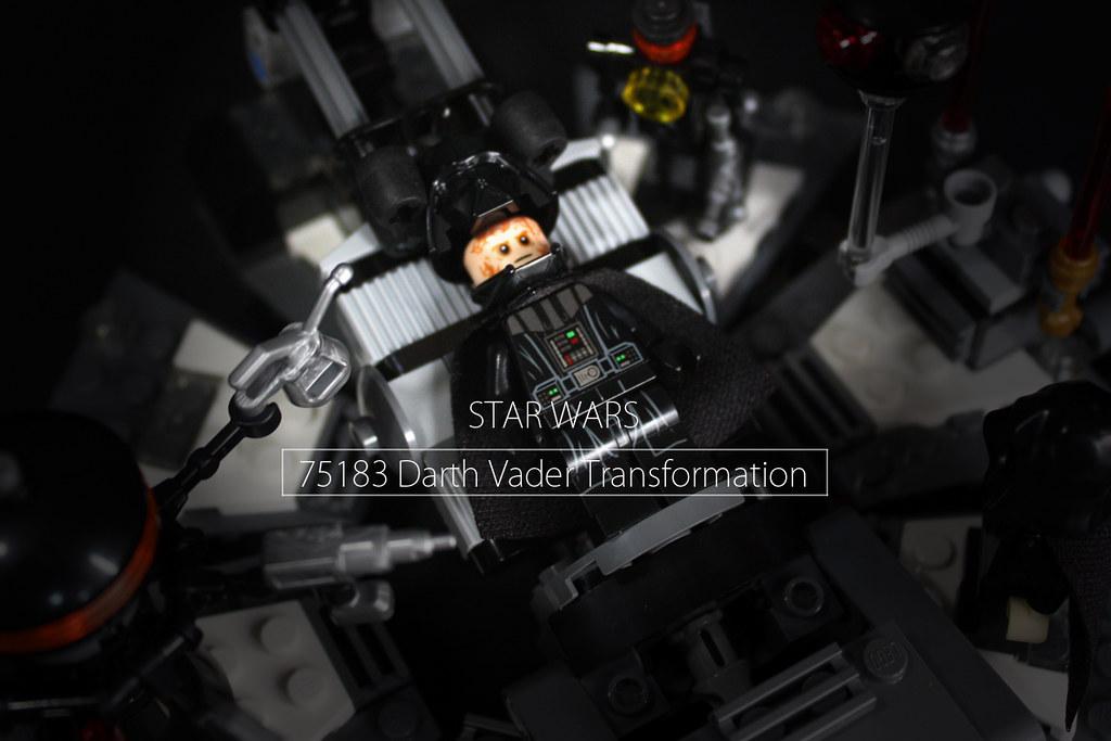 75183 黑武士(達斯.維德)的誕生 Darth Vader Transformation