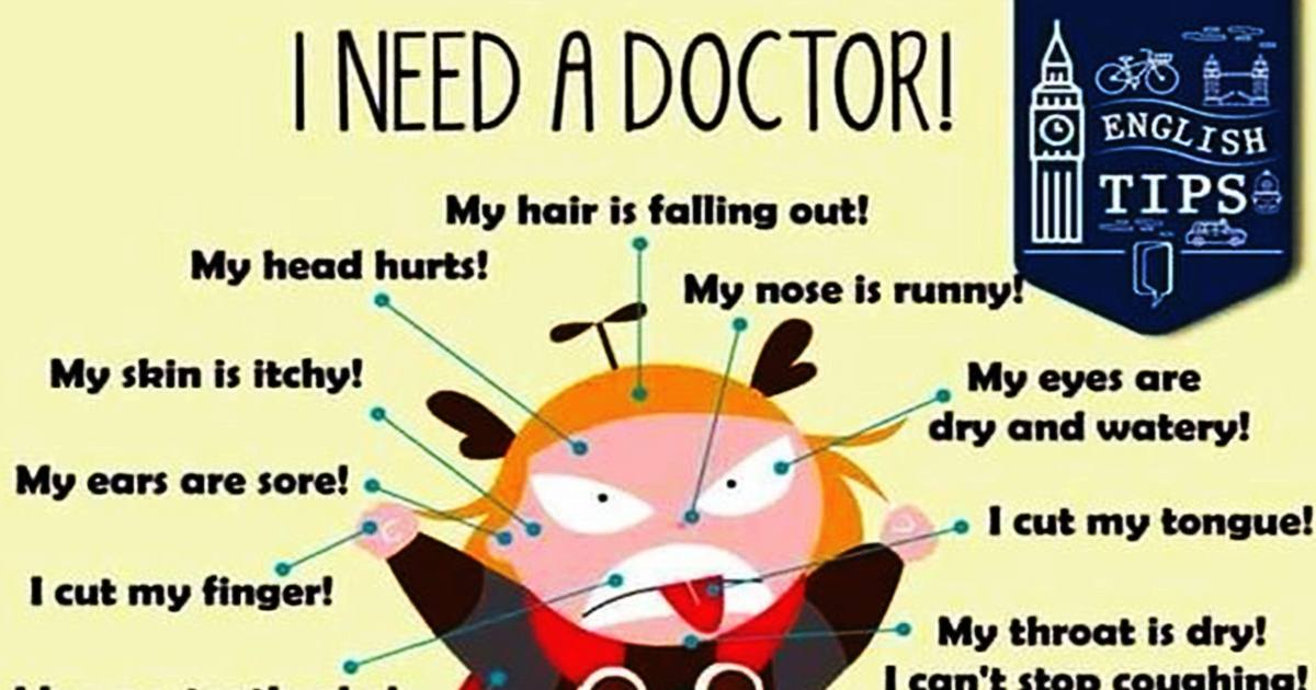 Useful Phrases to Use at the Doctor's 5