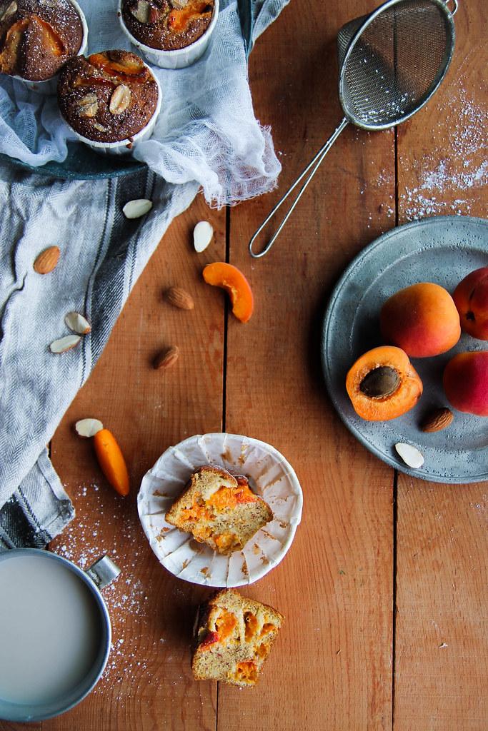 recette de Muffins abricot