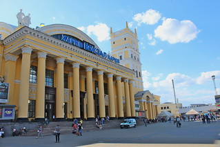 Kharkiv train station | by Timon91
