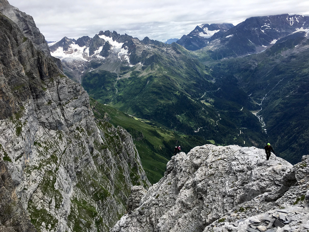 Klettersteig Tälli : Jungfrau zeitung klettersteig tälli feiert jubiläum