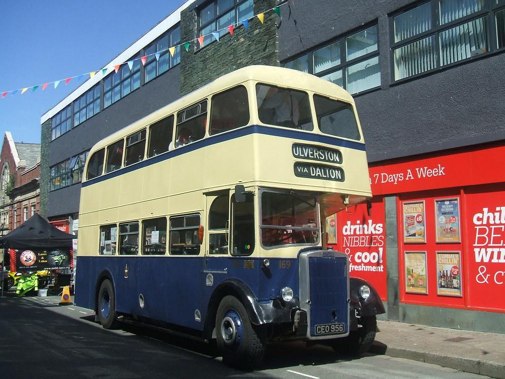 By Bennydorm Vintage Barrow Corporation Leyland Bus By Bennydorm