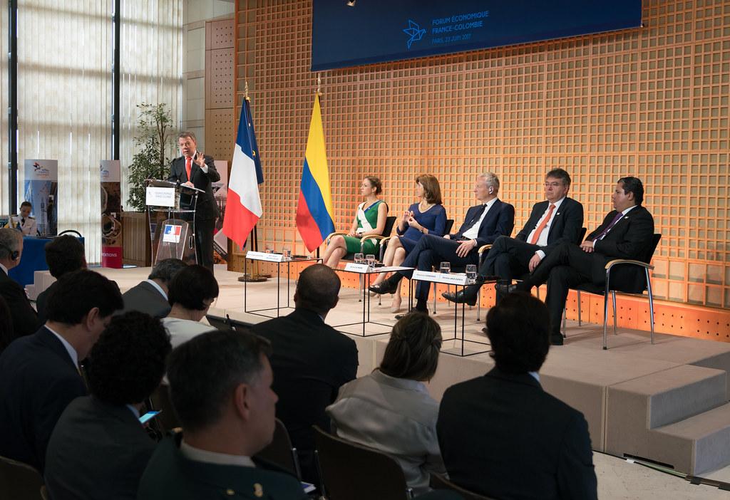 Intervención del Presidente Juan Manuel Santos en el Foro económico de Bercy, Paris, Francia.