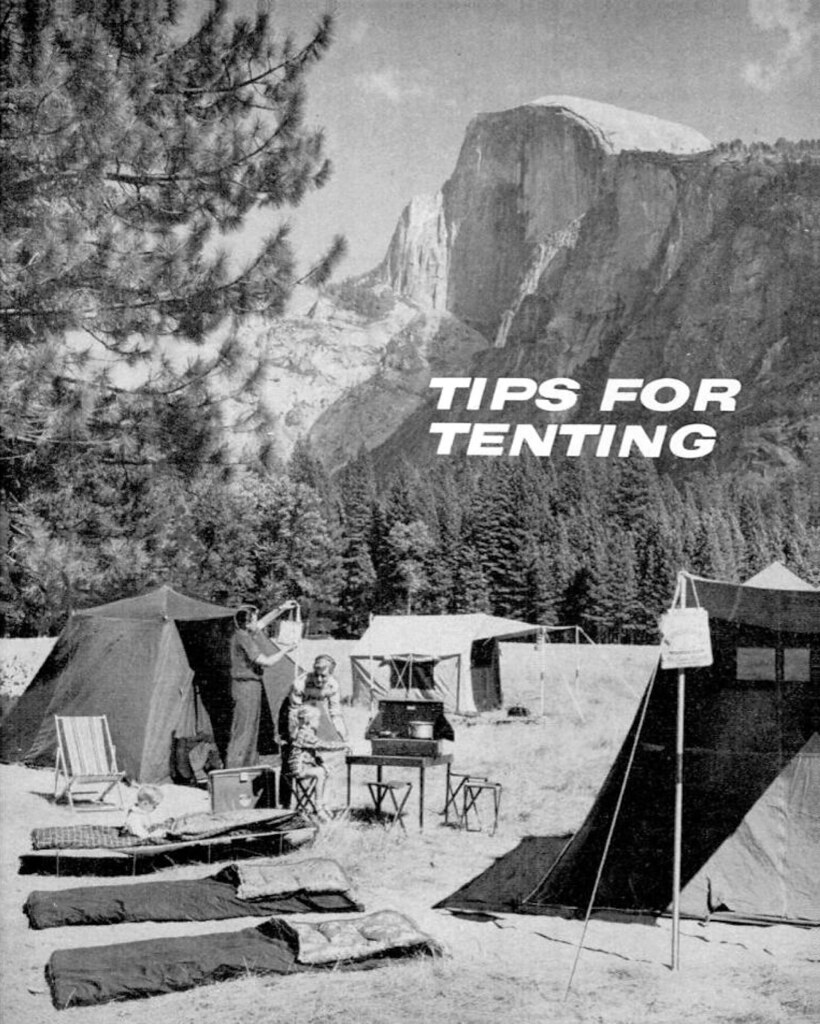 Tips for Tenting -- Popular Mechanics, May 1960