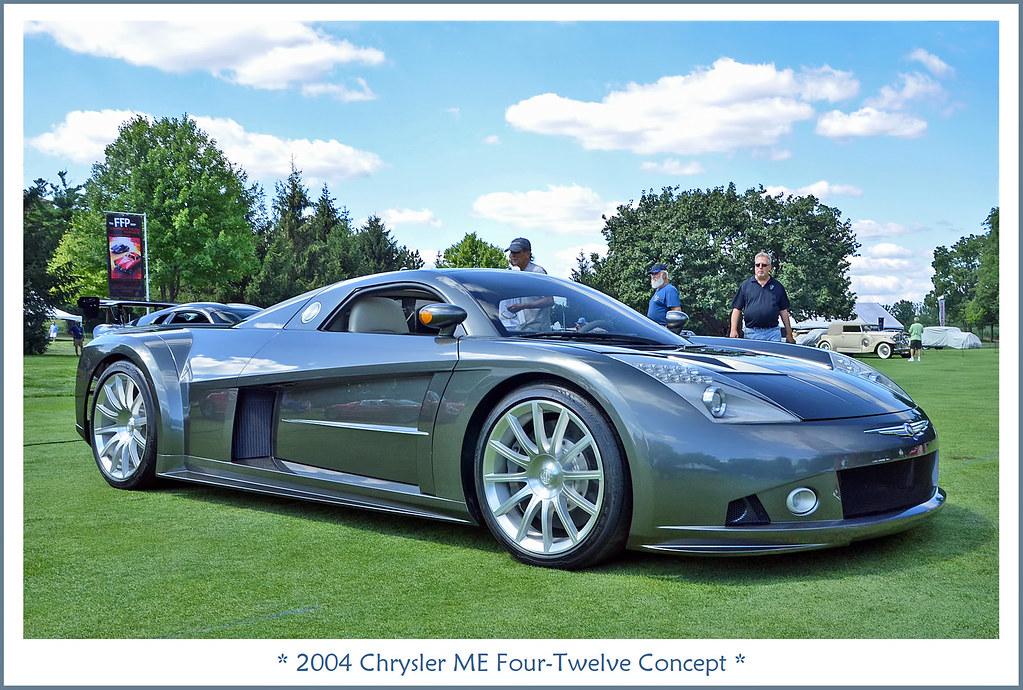 2004 Chrysler Me Four Twelve Concept Photographed On July Flickr