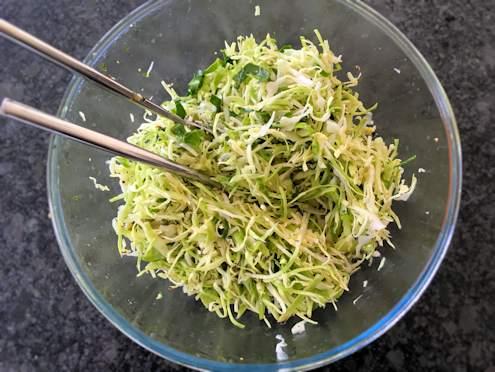 Crunchy cabbage