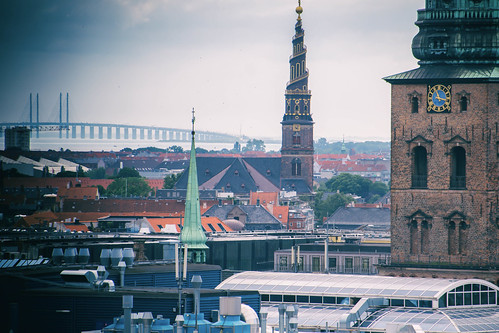 View from the Round tower in Copenhagen | by Maria Eklind