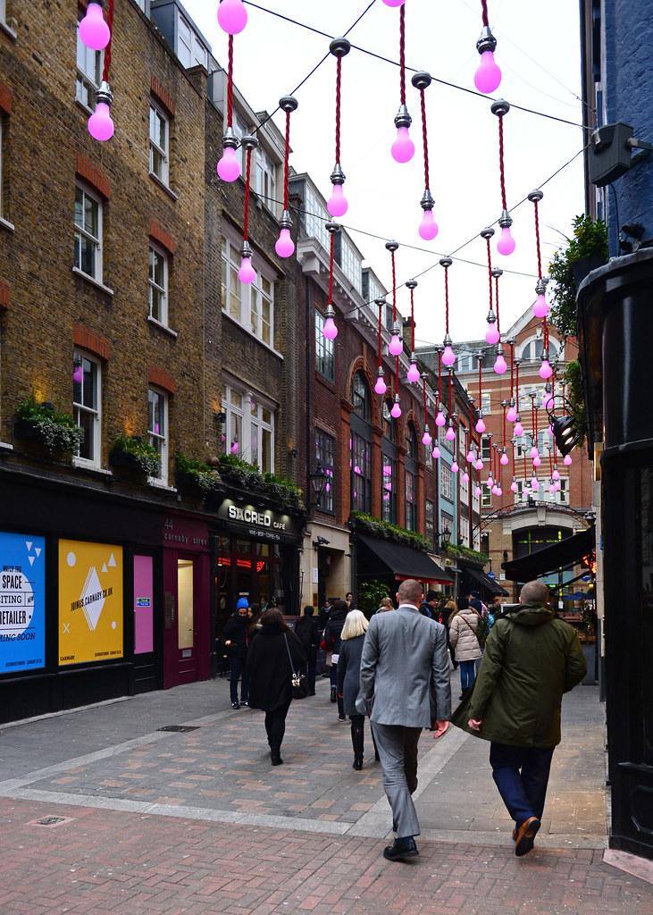 Rincones preciosos de Carnaby Street