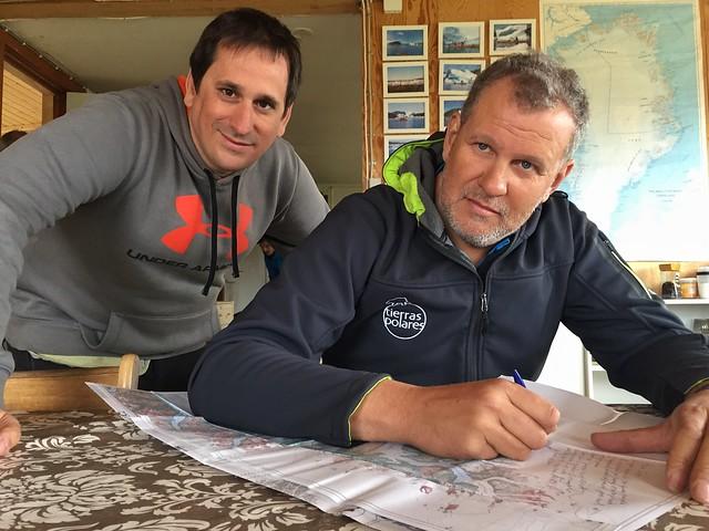 Sele con Ramón Larramendi en Tasiusaq (sur de Groenlandia)