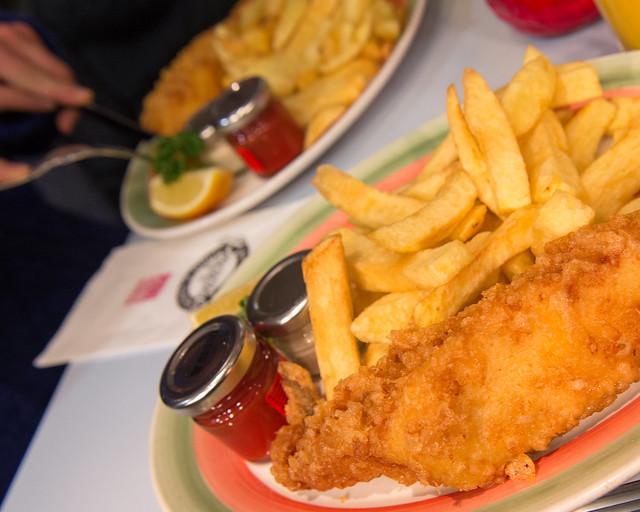 Sin duda el mejor fish and chips que se puede comer en Londres