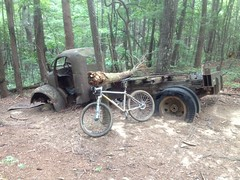 Bike at Bull Mountain Truck