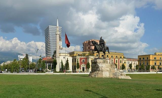 Tirana-Skanderbeg-Square-Sheshi-Skenderbej