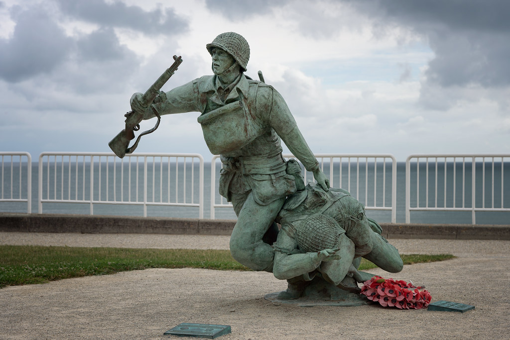 D Day Pictures Omaha Beach Memorial |...