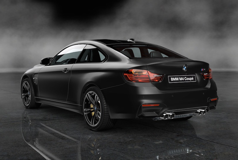 2014 BMW M4 Frozen Black