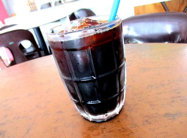 Rejang Park market kopi-o-peng