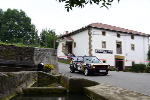 Asier Santamaría - Isaias Bringas, VW Golf GTI, X Rallysprint de Lanestosa Karrantza 2017