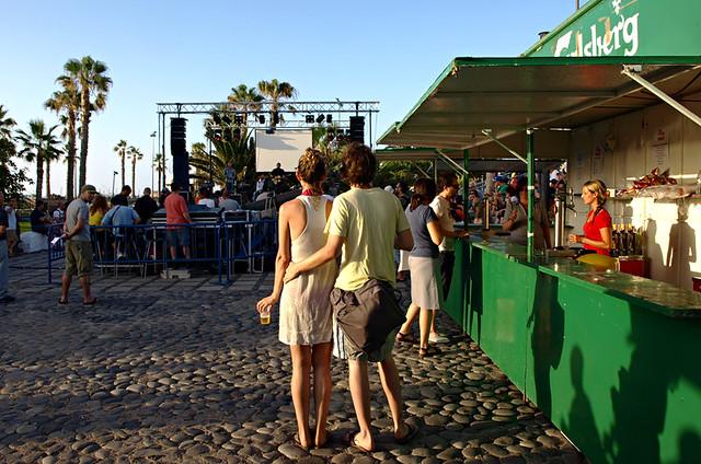 Summer concert, Puerto de la Cruz, Tenerife