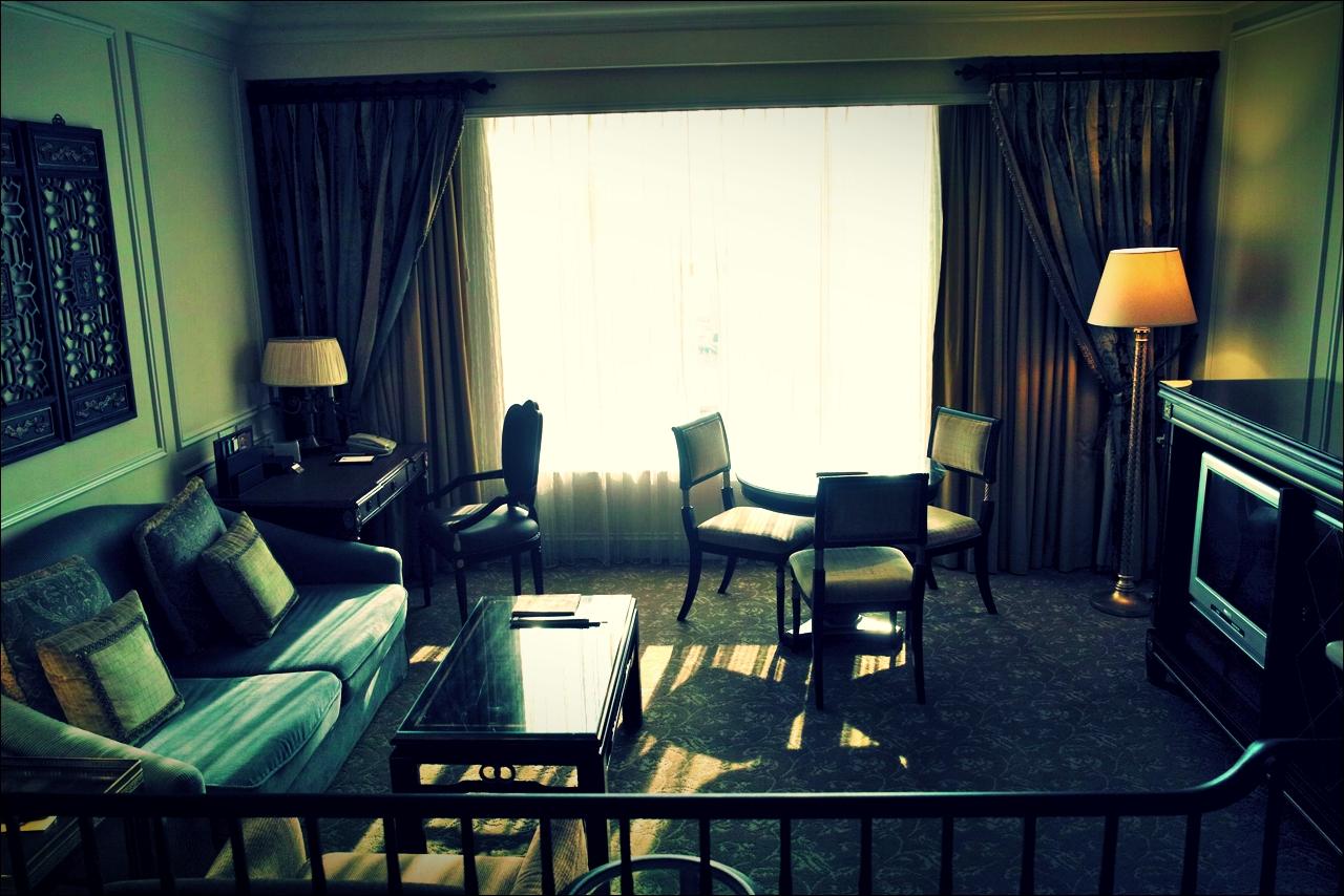 거실-'베네치안 마카오 리조트(The Venetian Macao Resort Hotel, Cotai, Macau)'