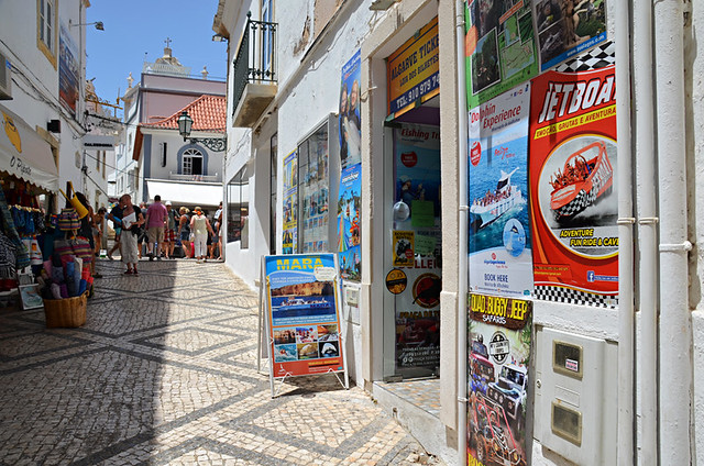 Excursion shop, Albufeira, Algarve