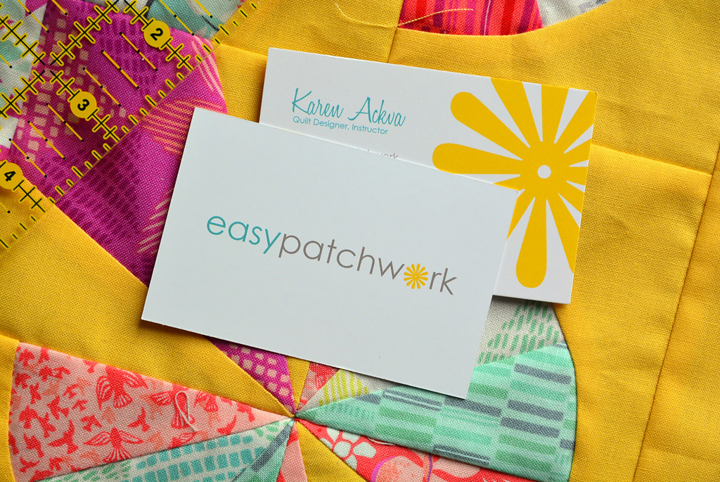 New Business Cards | Two Sided | easypatchwork | Flickr