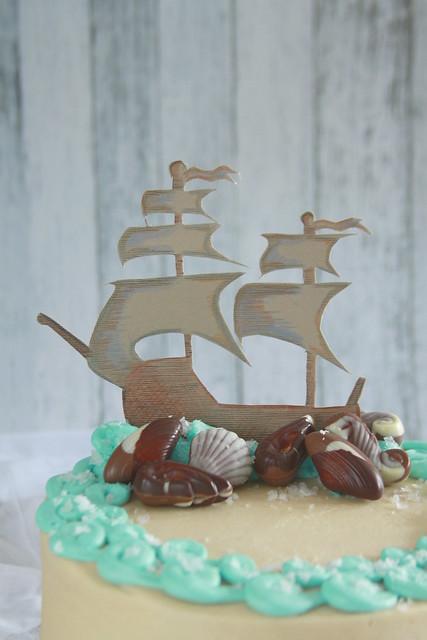 Salty Sailor Cake