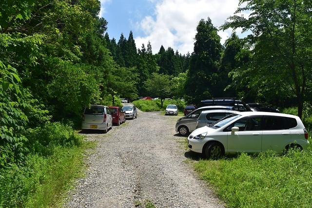 二王子岳駐車場