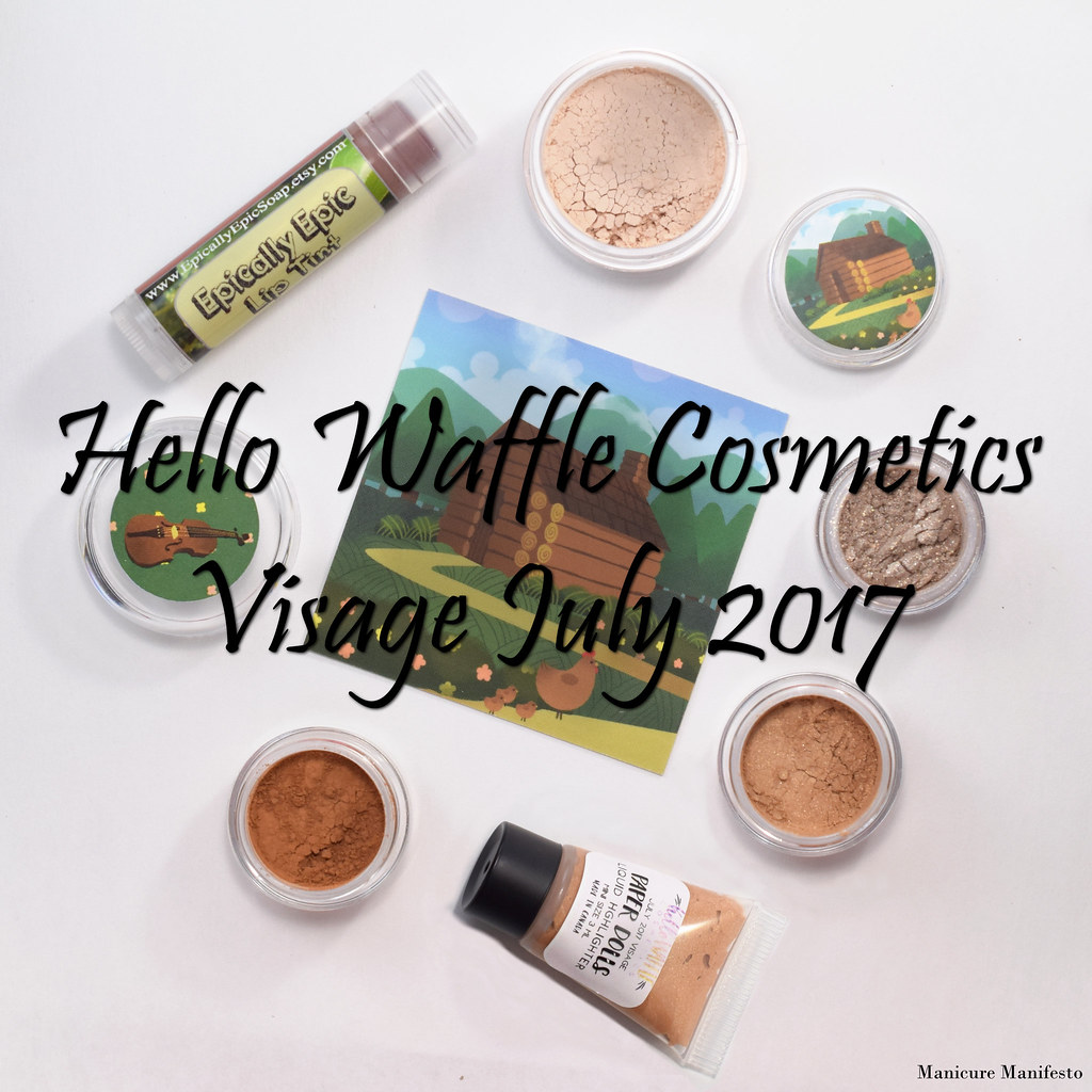 Hello Waffle Visage July 2017 swatch review