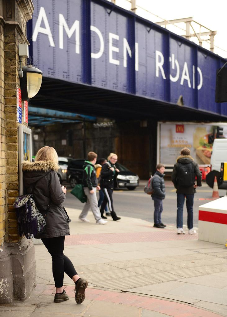 Junto a Camden Road en Londres, una de las mejores zonas que ver en Londres
