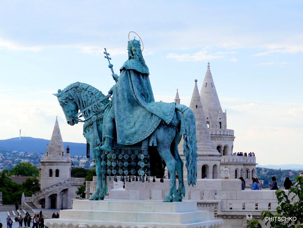 Budapest Fischerbastei Hal 225 Szb 225 Stya Statue Von K 246 Nig