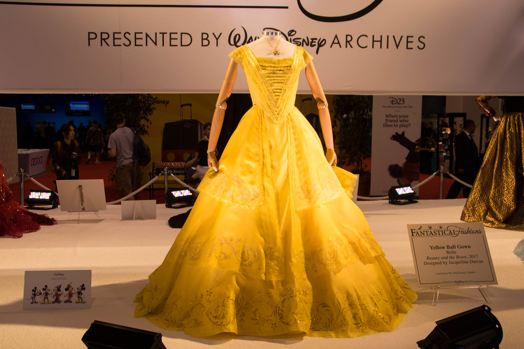 Belle Yellow Ball Gown   Fantastical Fashions   Ray   Flickr