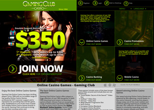 Gaming Club Casino Home