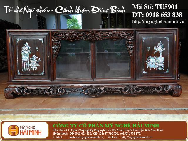 TU5901b  Tu che Ngu Phuc  Canh kham Dong Bich  do go mynghehaiminh