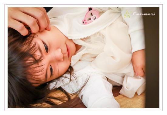 深川神社へお宮参りの写真(愛知県瀬戸市) 100日まいり 喜楽でお食い初め 料理 着物 ベビードレス 出張撮影 ロケーションフォト