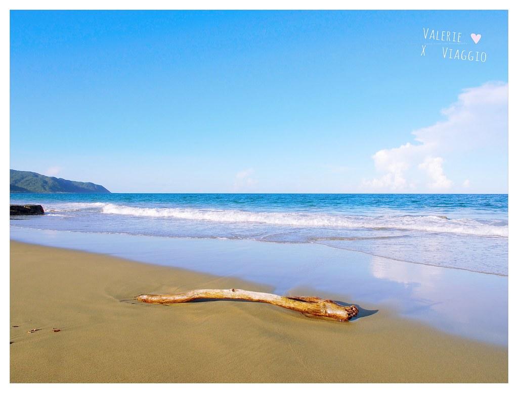 【墾丁 Kenting】砂島貝殼白沙灘 滿州沙灘 墾丁南島的靜謐沙灘分享 @薇樂莉 ♥ Love Viaggio 微旅行