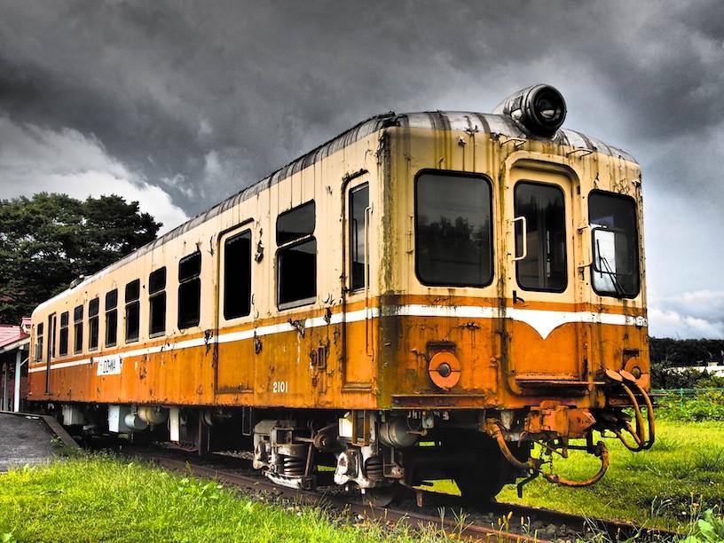 Train in Oblivion。圖片來源:Syuzo Tsushima(CC BY 2.0)。