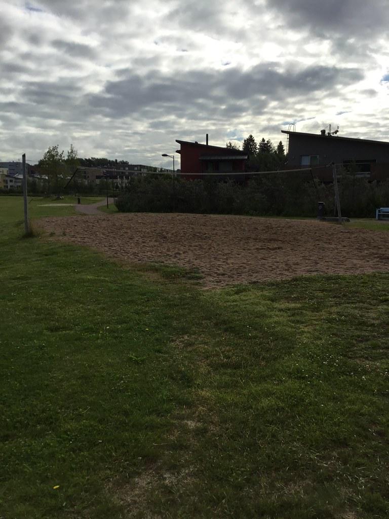 Kuva toimipisteestä: Lillhemtinpuiston beachvolleykenttä