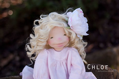 Chloe - 18 inch Natural Fiber Art Doll by Down Under Waldorfs