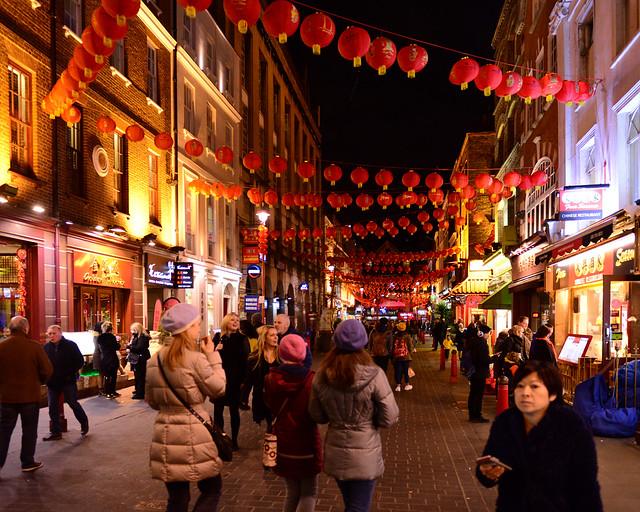 Chinatown, uno de los imprescindibles que visitar en Londres