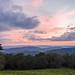 Sunset from Hazeltop Ridge Overlook