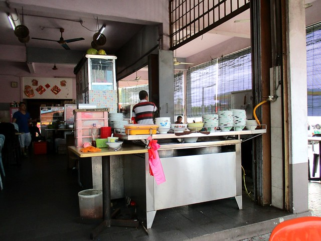 Wan Sen Corner kampua stall