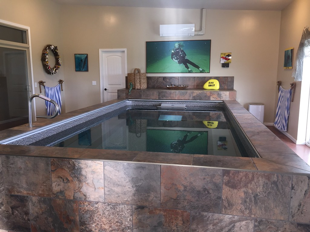 indoor Endless Pools® swimming machine   The Endless Pool in…   Flickr