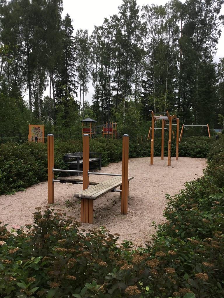 Kuva toimipisteestä: Krenatöörinpuisto / Ulkokuntoiluvälineet