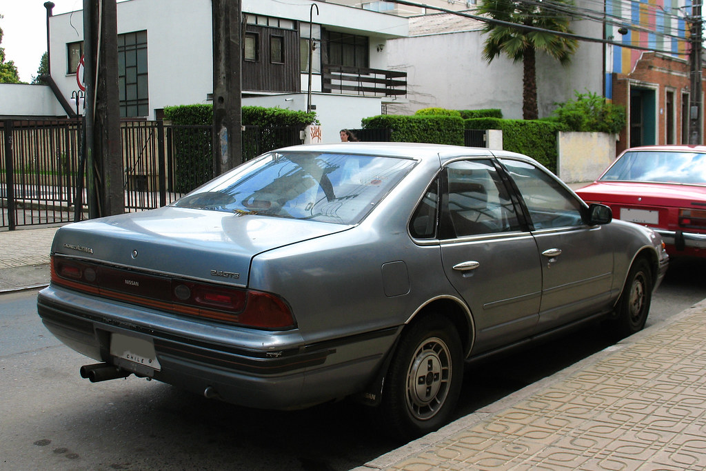 Nissan Laurel Altima 2 4 Gts 1990 Rl Gnzlz Flickr