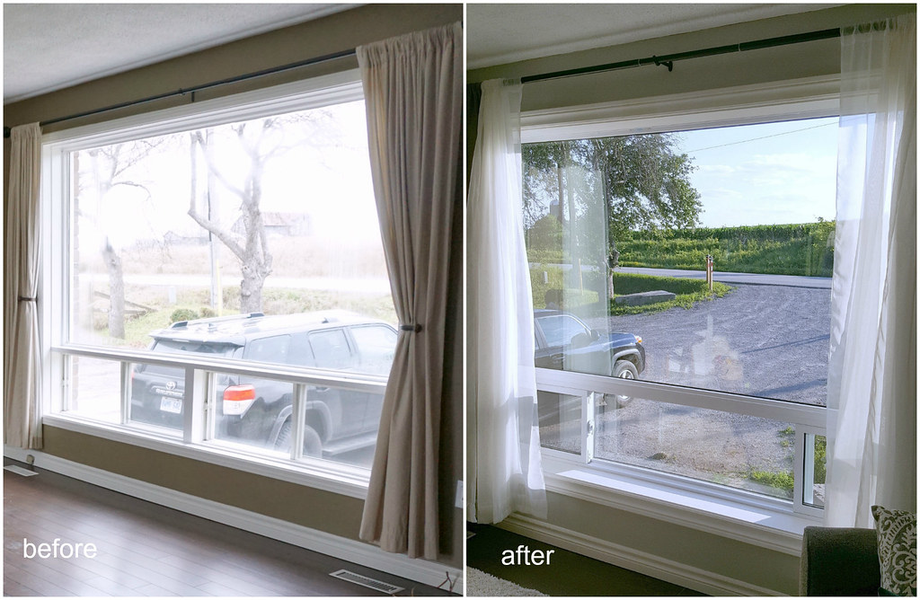 picture window replacement before after Lifestyle Oasis