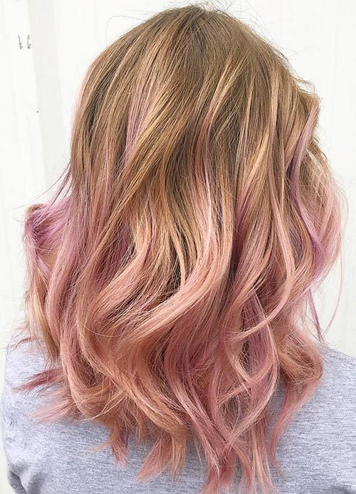 Trendy Hair Highlights 40 Rose Gold Hair Color Ideas In Flickr