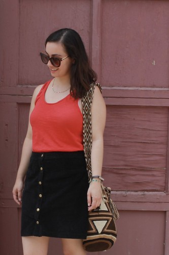How to wear a corduroy skirt in summer | Shades of Sarah | by shades-of-sarah